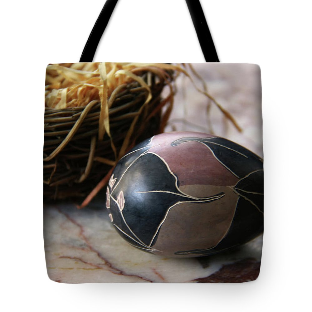 Easter Tote Bag featuring the photograph African Easter Egg by Yvonne Wright