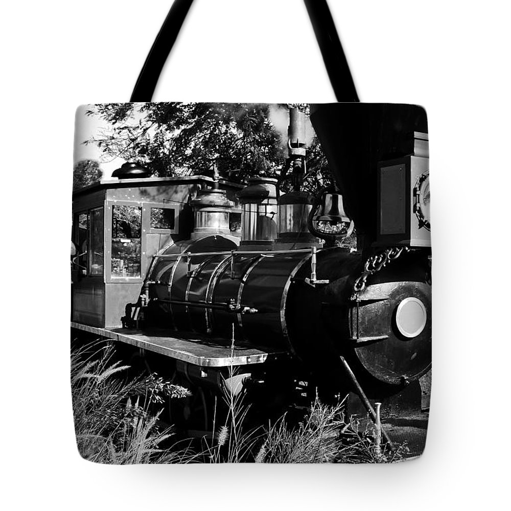 Railroad Tote Bag featuring the photograph African Rail by David Lee Thompson