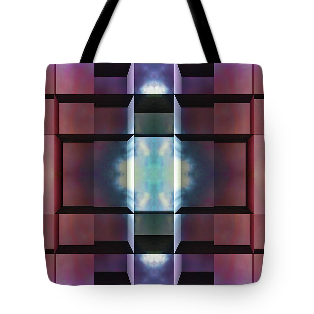 Abstract Tote Bag featuring the digital art After All by Wendy J St Christopher