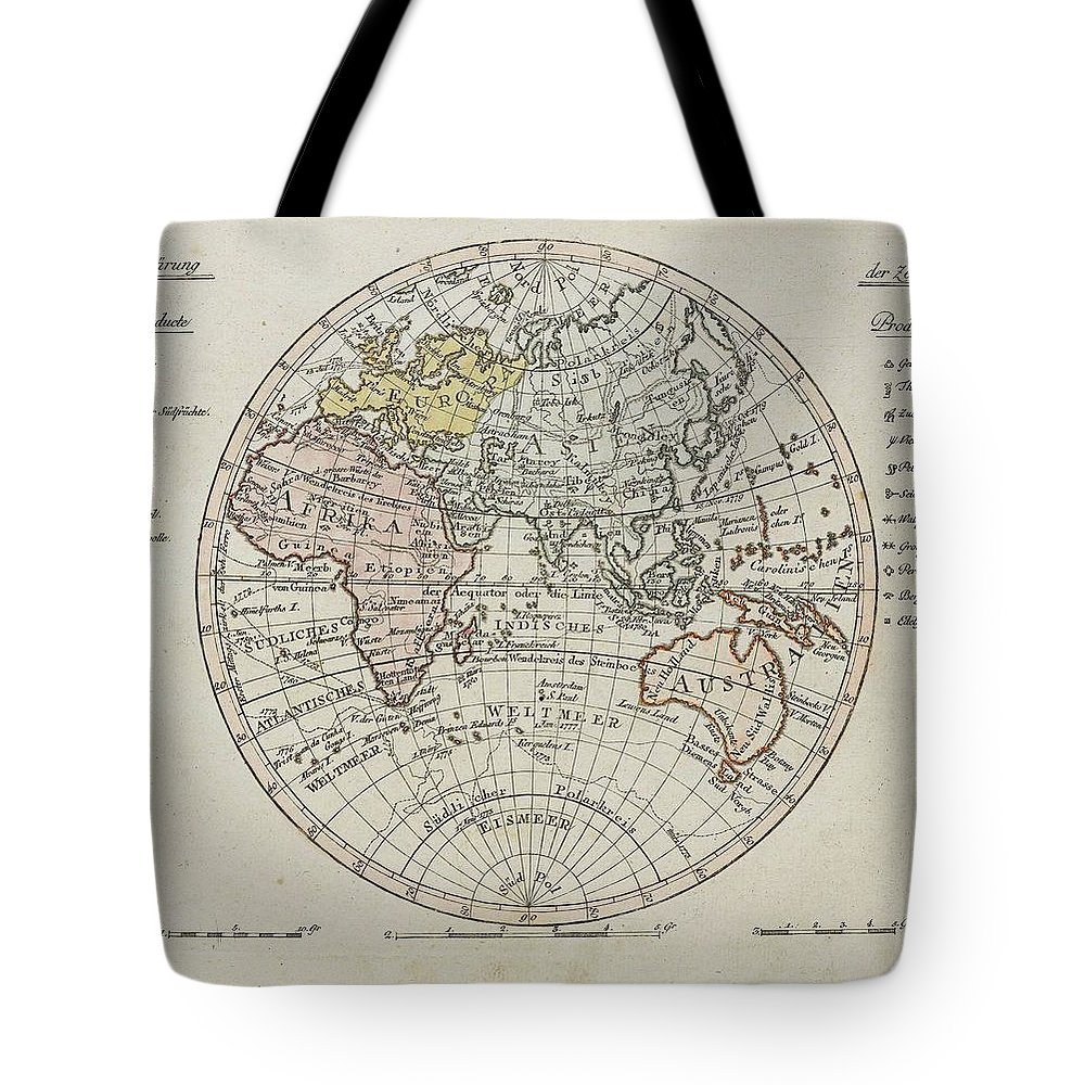 Atlases - Walch Tote Bag featuring the painting After Most Proven Expedients by MotionAge Designs