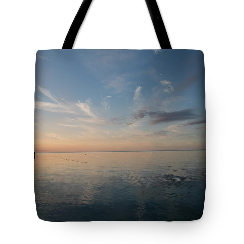 Gulf Of Mexico Tote Bag featuring the photograph After Sunset II by Gina Munger