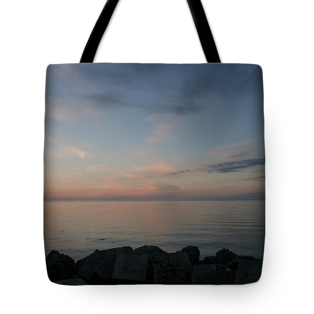 Gulf Of Mexico Tote Bag featuring the photograph After Sunset IIi by Gina Munger