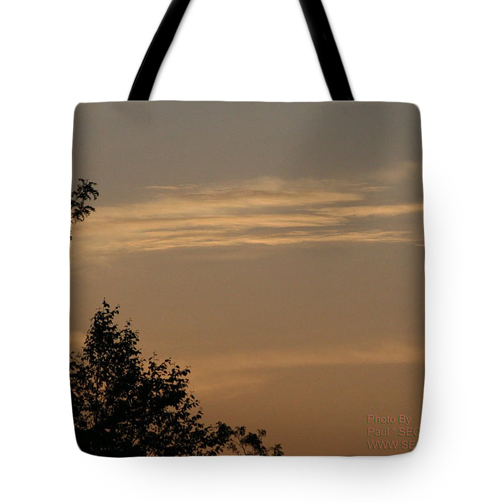 Sky Tote Bag featuring the photograph After The Rain by Paul SEQUENCE Ferguson       sequence dot net