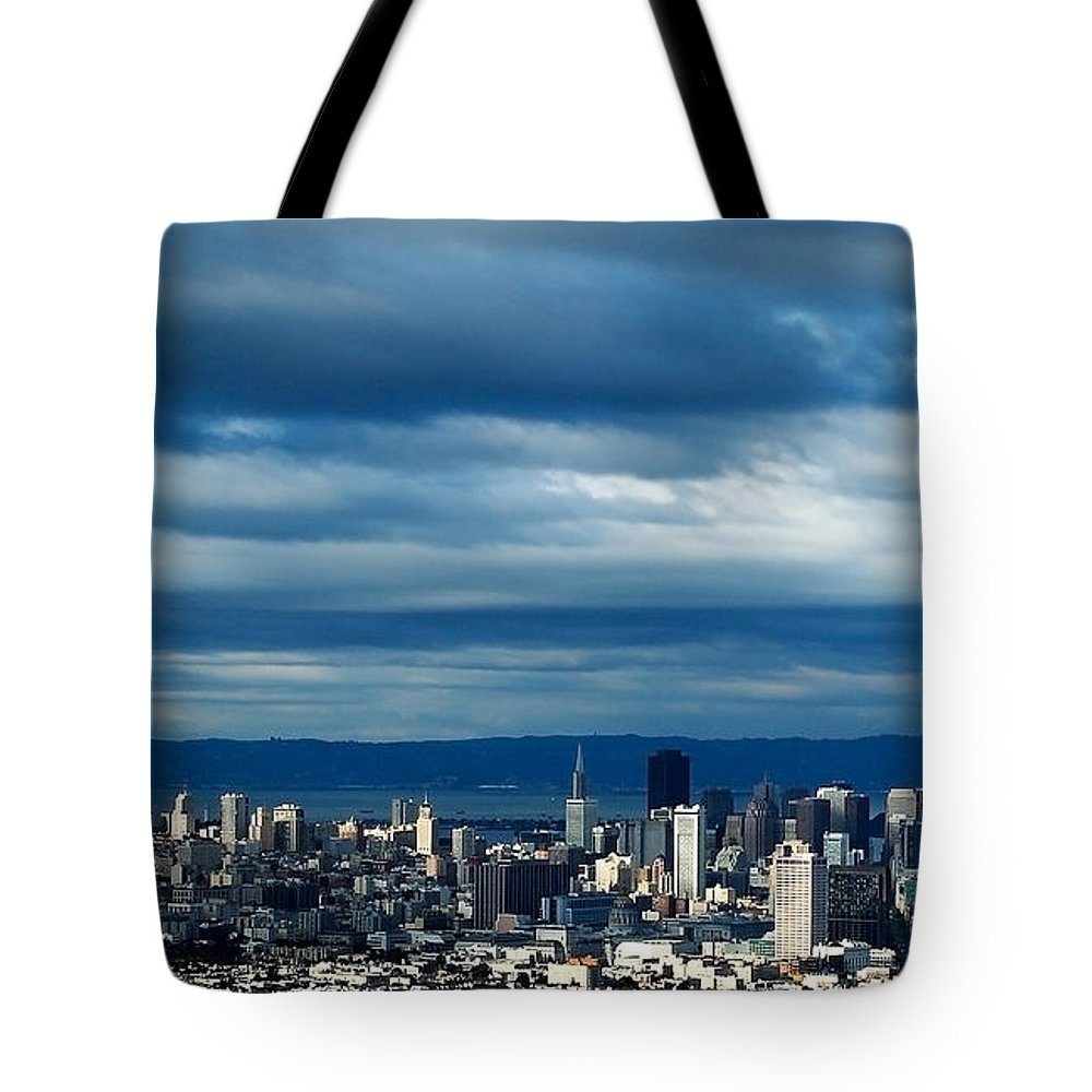 Storm Tote Bag featuring the photograph After The Storm by Mick Burkey