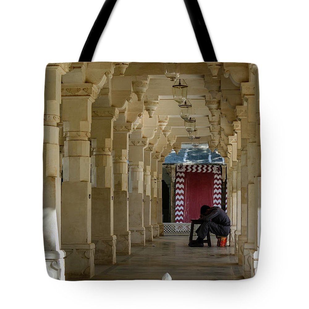 Colonnade Tote Bag featuring the photograph Afternoon Siesta by Aashish Vaidya