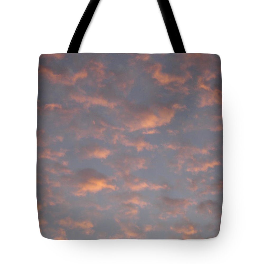Skyscape Tote Bag featuring the painting Afternoon Sky 11 by Roger Cummiskey