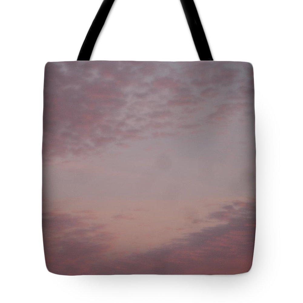 Skyscape Tote Bag featuring the painting Afternoon sky by Roger Cummiskey