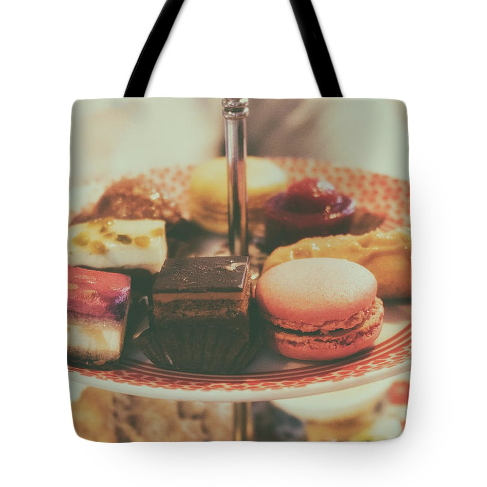 Tea Tote Bag featuring the photograph Afternoon Tea by Martin Newman