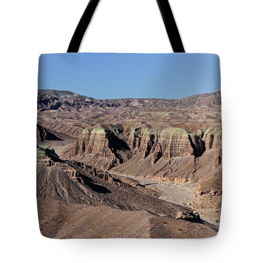 Aerial Shots Tote Bag featuring the photograph Afton Canyon by Jim Thompson