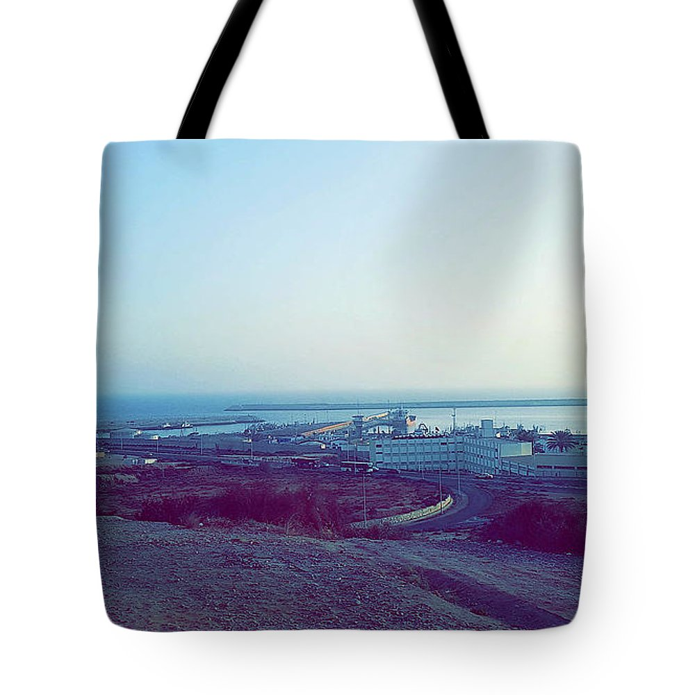 Nature Tote Bag featuring the photograph Agadir Nature by Hassan Boumhi