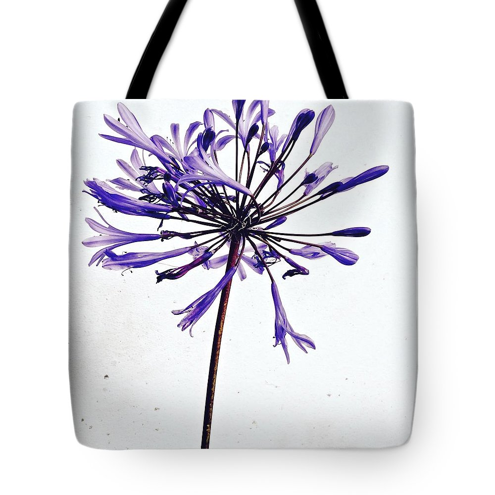 Flower Tote Bag featuring the photograph Agapanthus 2 by Julie Gebhardt