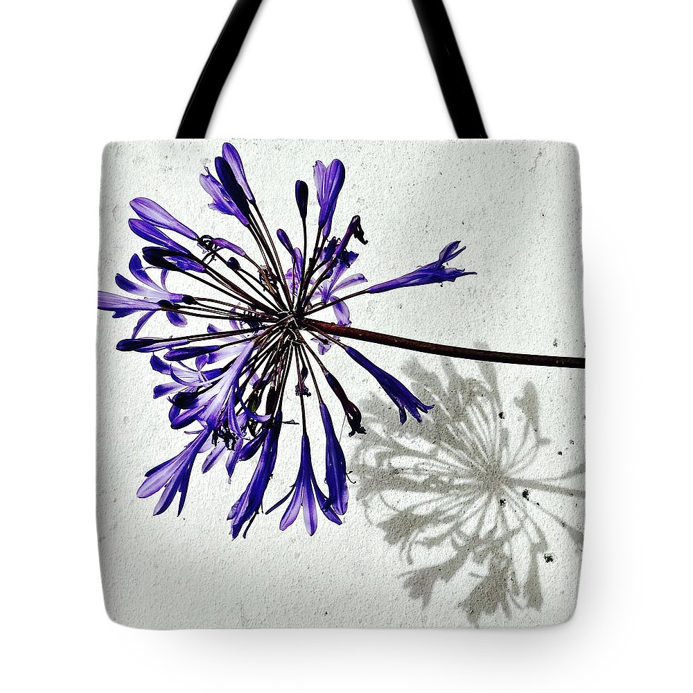 Flower Tote Bag featuring the photograph Agapanthus by Julie Gebhardt