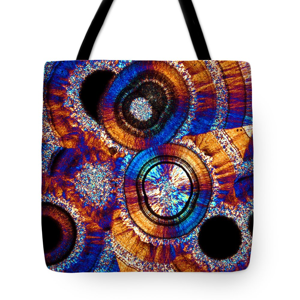 Aesthetic Tote Bag featuring the photograph Agate 43 by Bernardo Cesare