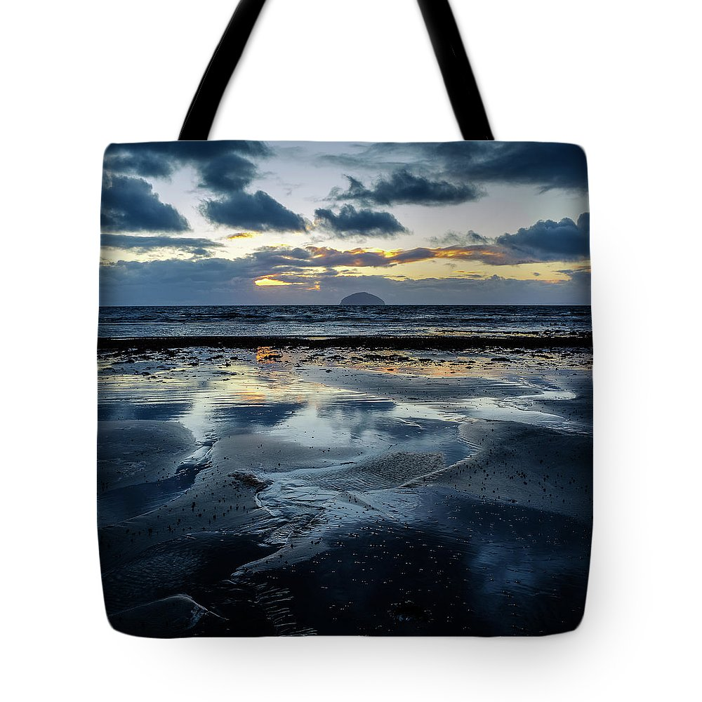 Scotland Tote Bag featuring the photograph Ailsa Craig by Peter OReilly