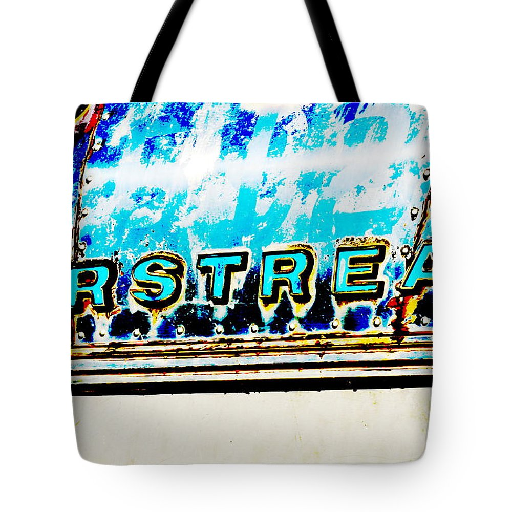 Metal Tote Bag featuring the photograph Airstream by Newel Hunter