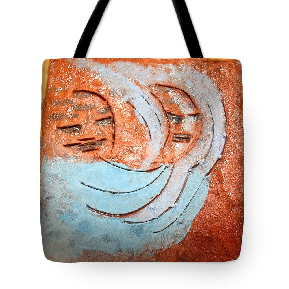 Jesus Tote Bag featuring the photograph Akaweese - Tile by Gloria Ssali
