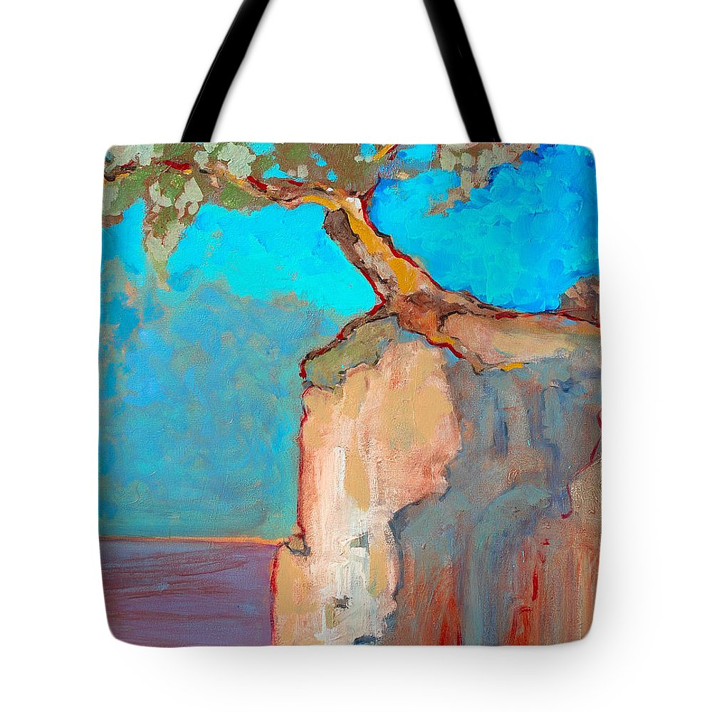 Tree Tote Bag featuring the painting Albero by Kurt Hausmann