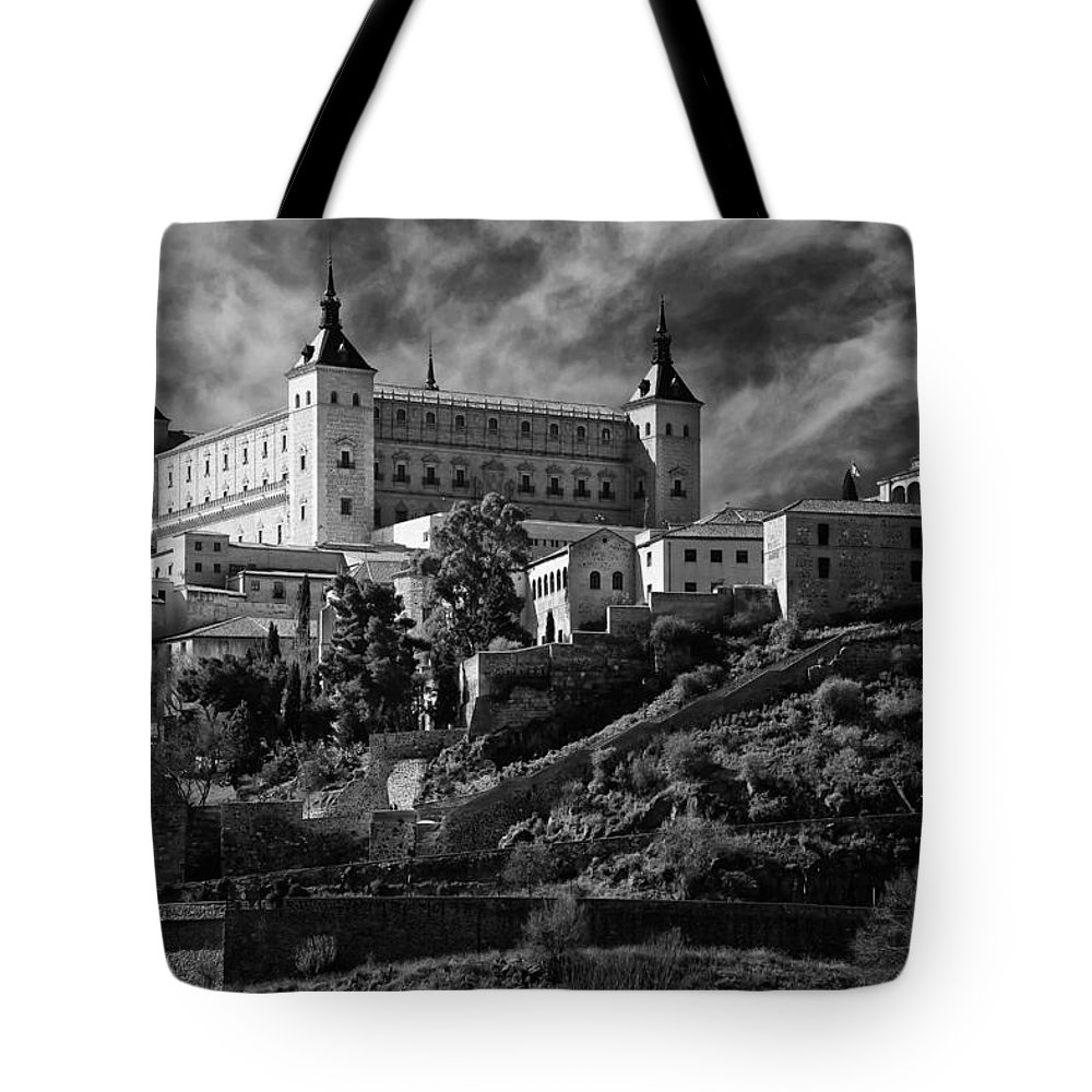 Alcazar Tote Bag featuring the photograph Alcazar by Joan Carroll
