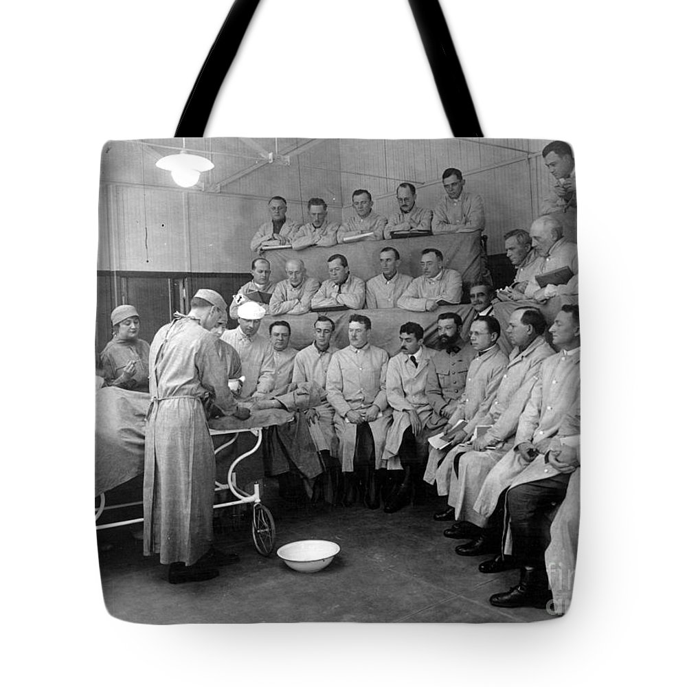20th Century Tote Bag featuring the photograph Alexis Carrel by Granger