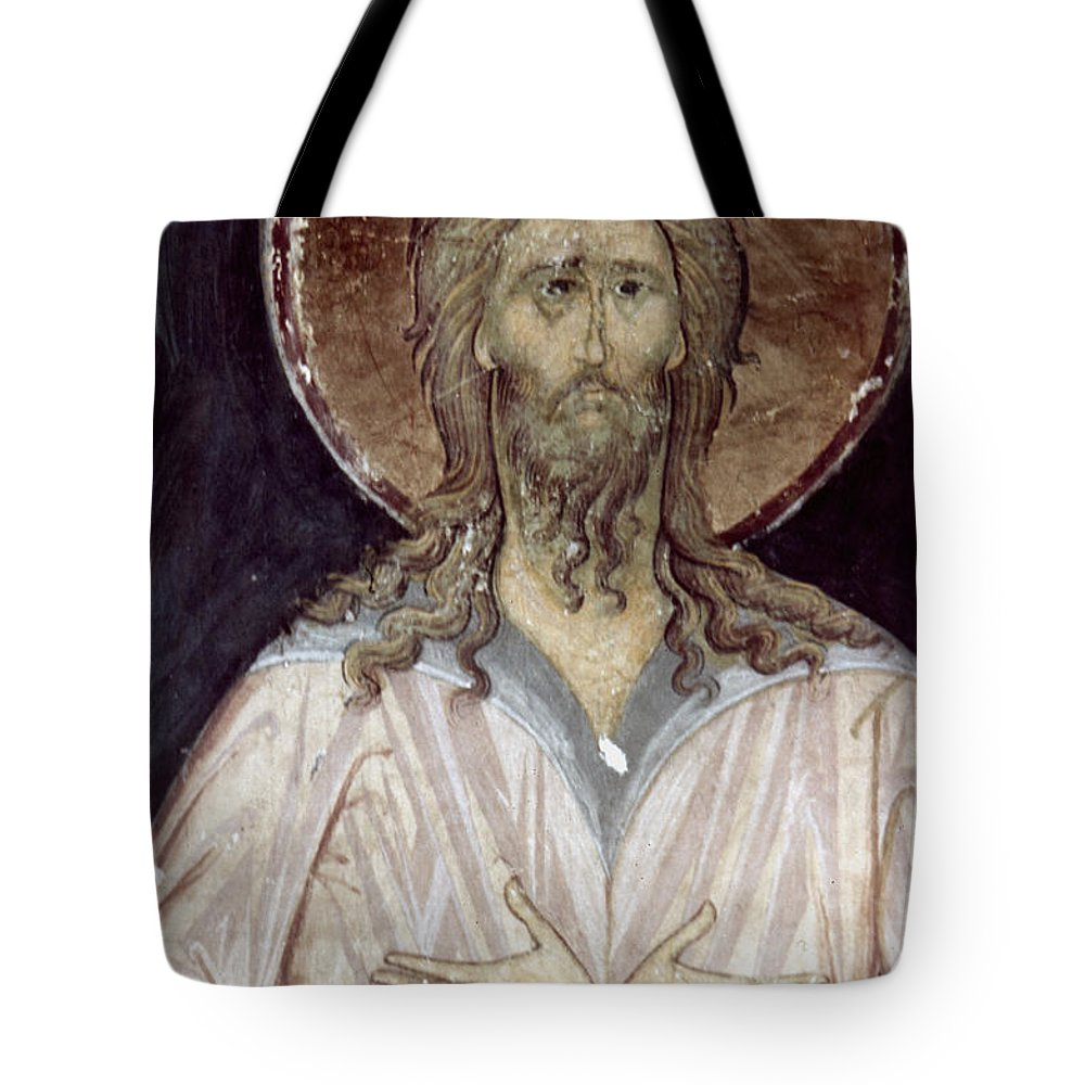 15th Century Tote Bag featuring the photograph Alexis The Gods Man by Granger