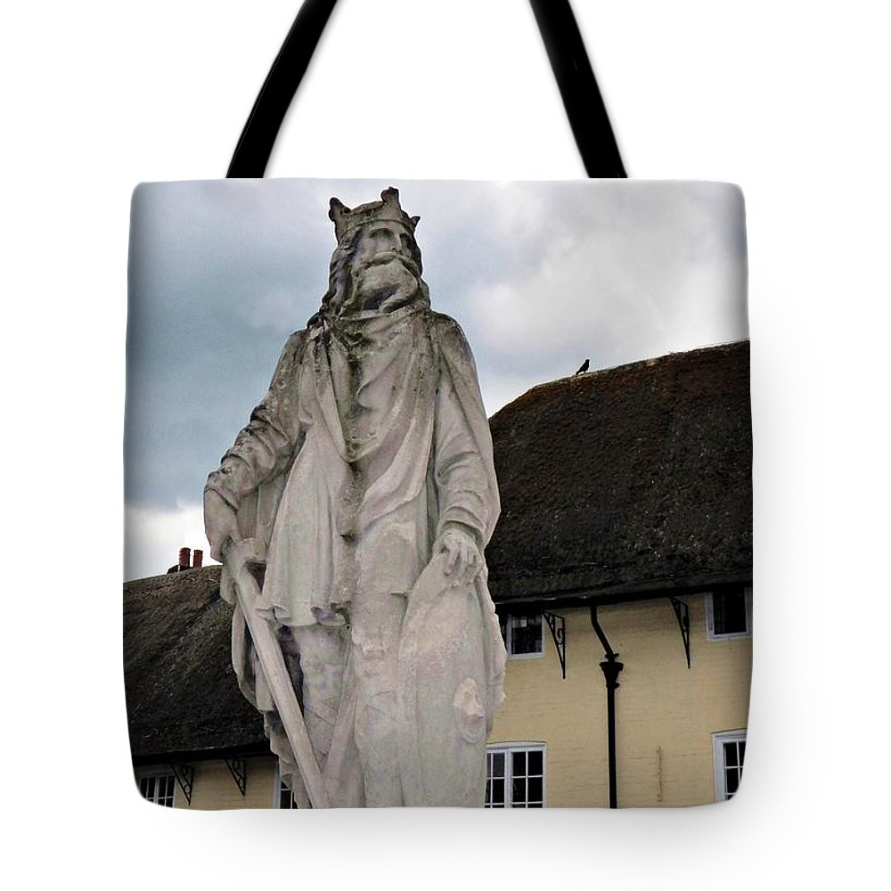 Pewsey Village And Civil Parish Tote Bag featuring the photograph Alfred by David A James