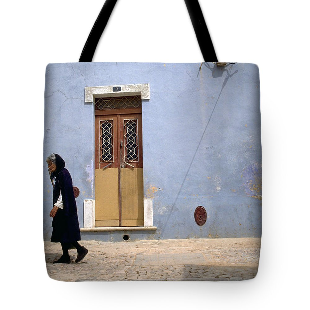 Algarve Tote Bag featuring the photograph Algarve II by Flavia Westerwelle