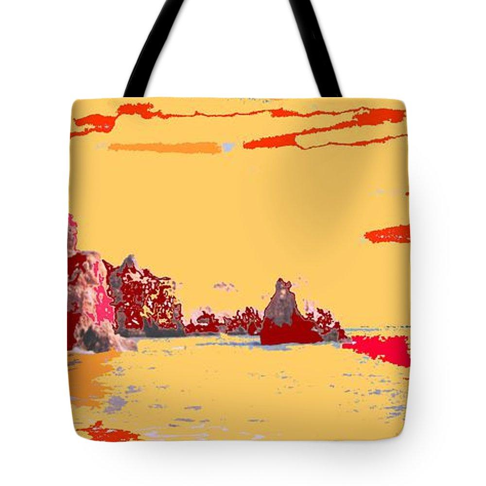 Mediterranean Tote Bag featuring the photograph Algarve Sunrise by Ian MacDonald
