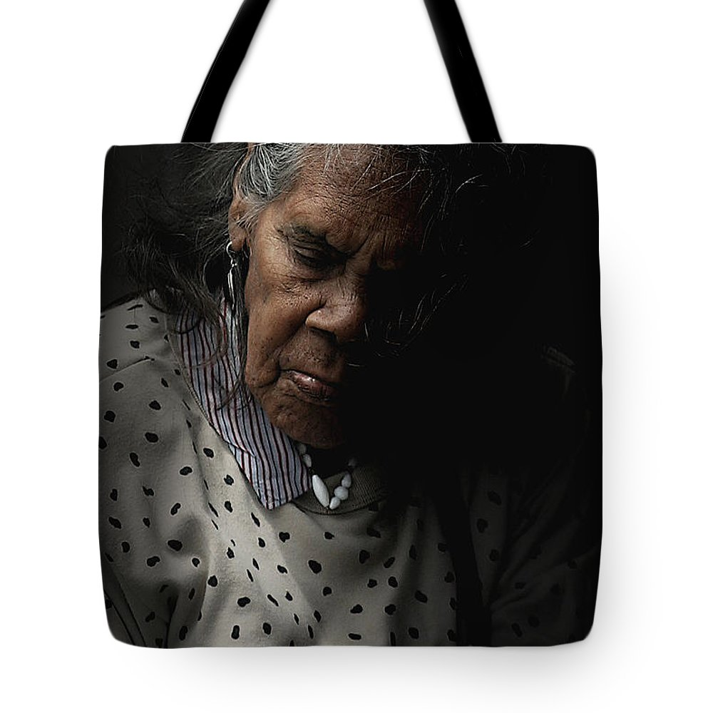 Portrait Tote Bag featuring the photograph Alice by Sheila Smart Fine Art Photography