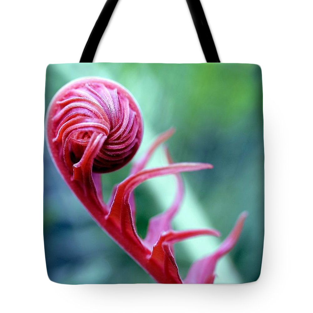 Blossom Tote Bag featuring the photograph Alien by Mitch Cat