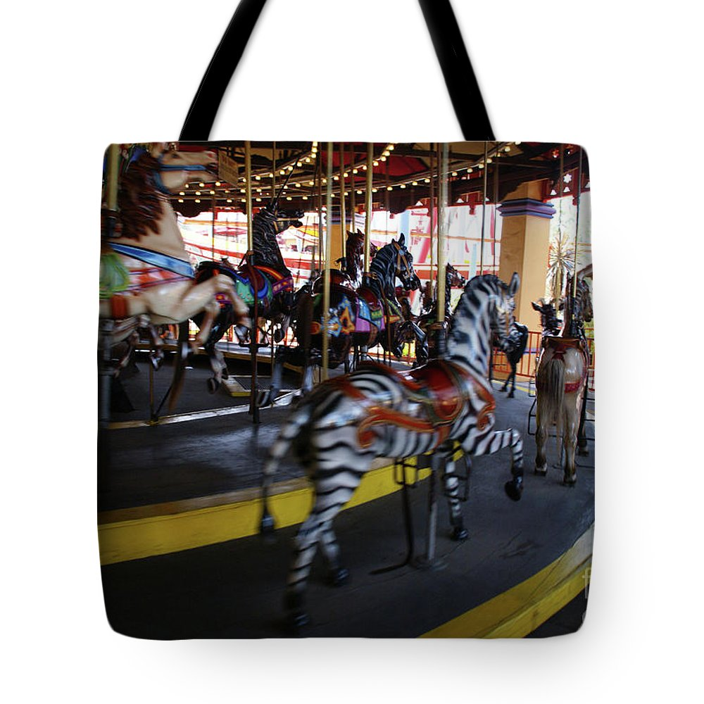 Horse Tote Bag featuring the photograph All The Pretty Ponies by Linda Shafer