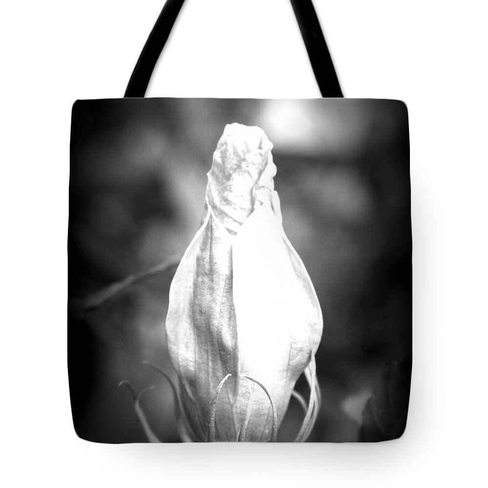 Flower Tote Bag featuring the photograph Almost Time by Tina Meador