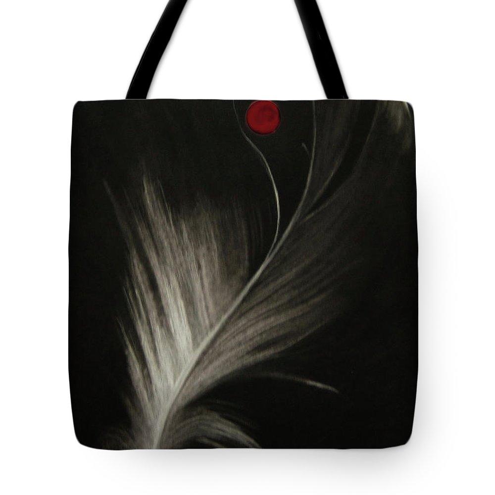 Expressive Tote Bag featuring the pastel Aloft by Alexandra Duhlinska