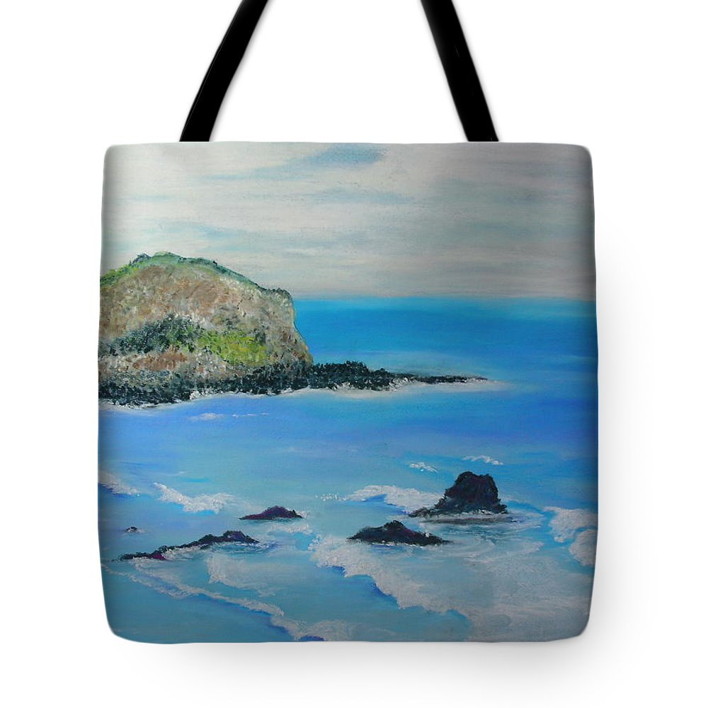 Hawaii Tote Bag featuring the painting Aloha by Melinda Etzold
