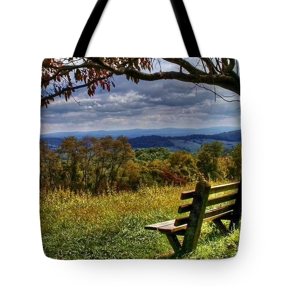 Nature Tote Bag featuring the photograph Alone by Mitch Cat