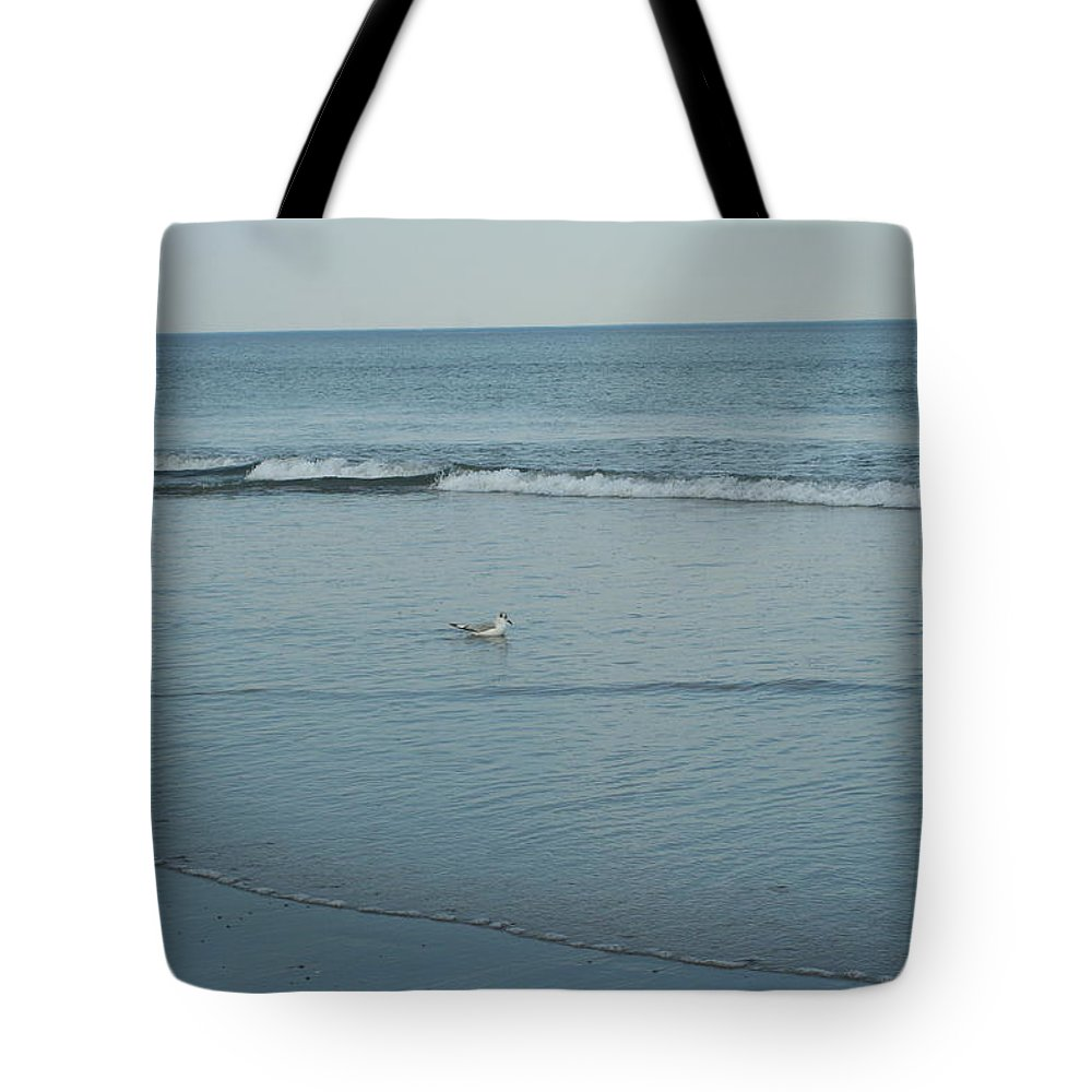 Photography Tote Bag featuring the photograph Alone Time by Barbara S Nickerson