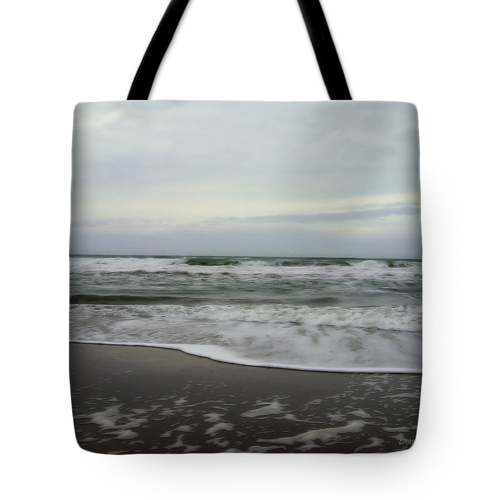San Francisco Beach Tote Bag featuring the photograph Along The Great Highway by Donna Blackhall