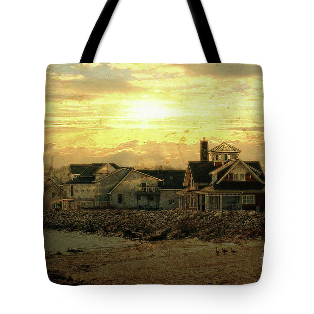 Shore Tote Bag featuring the photograph Along The Shores by Joel Witmeyer