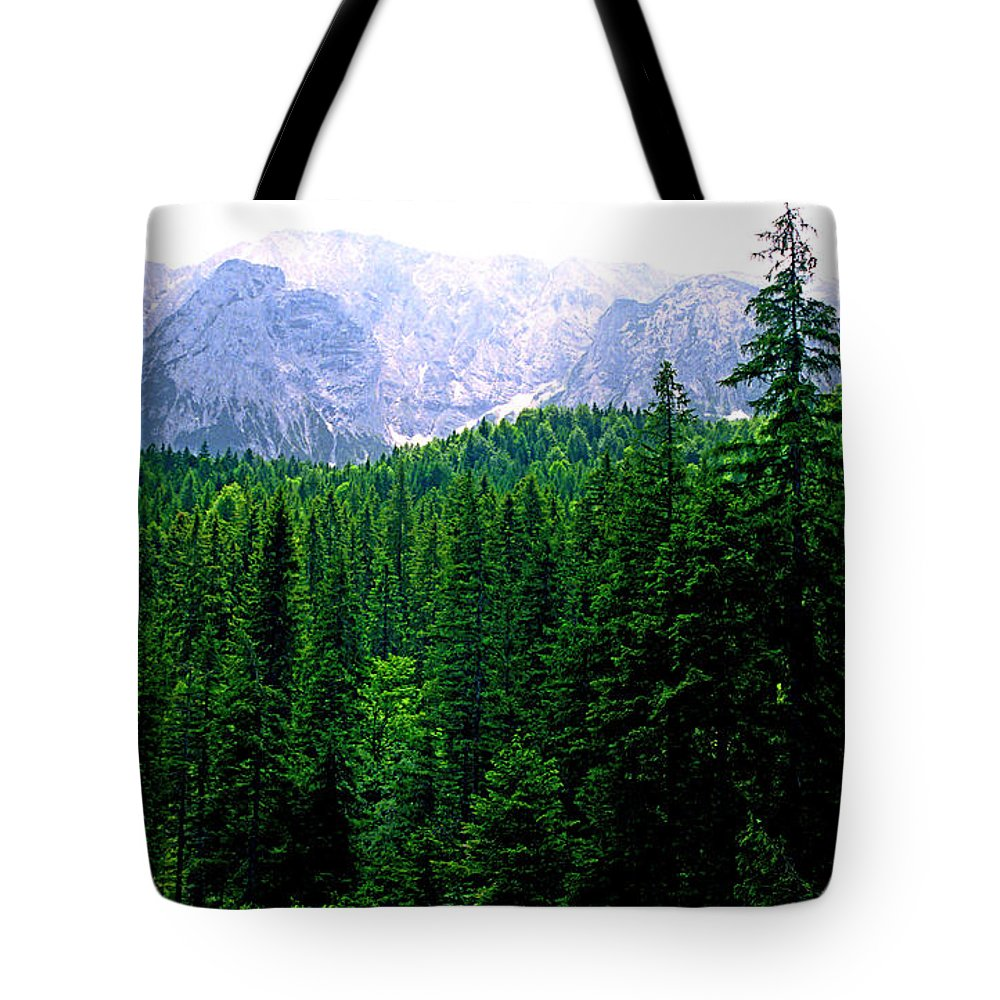 Bavaria Tote Bag featuring the photograph Alpine Forest by Kevin Smith