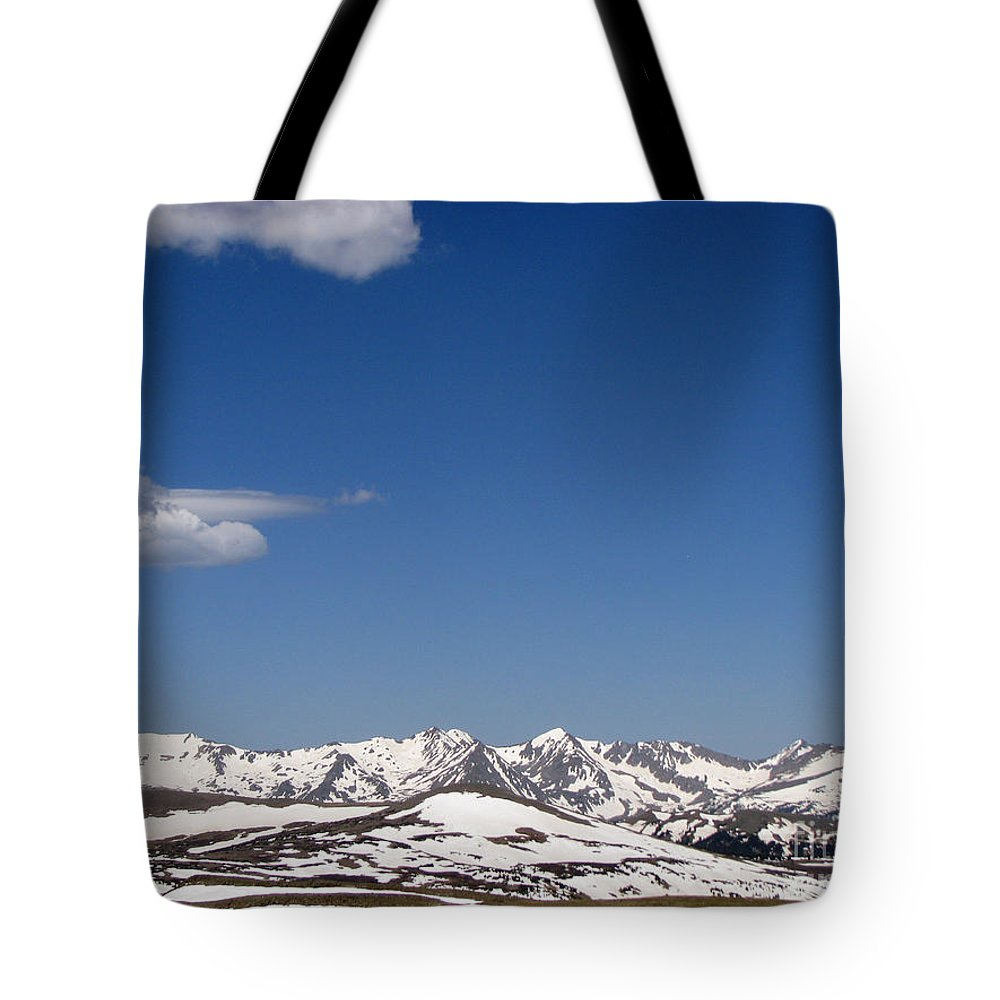 Mountains Tote Bag featuring the photograph Alpine Tundra Series by Amanda Barcon