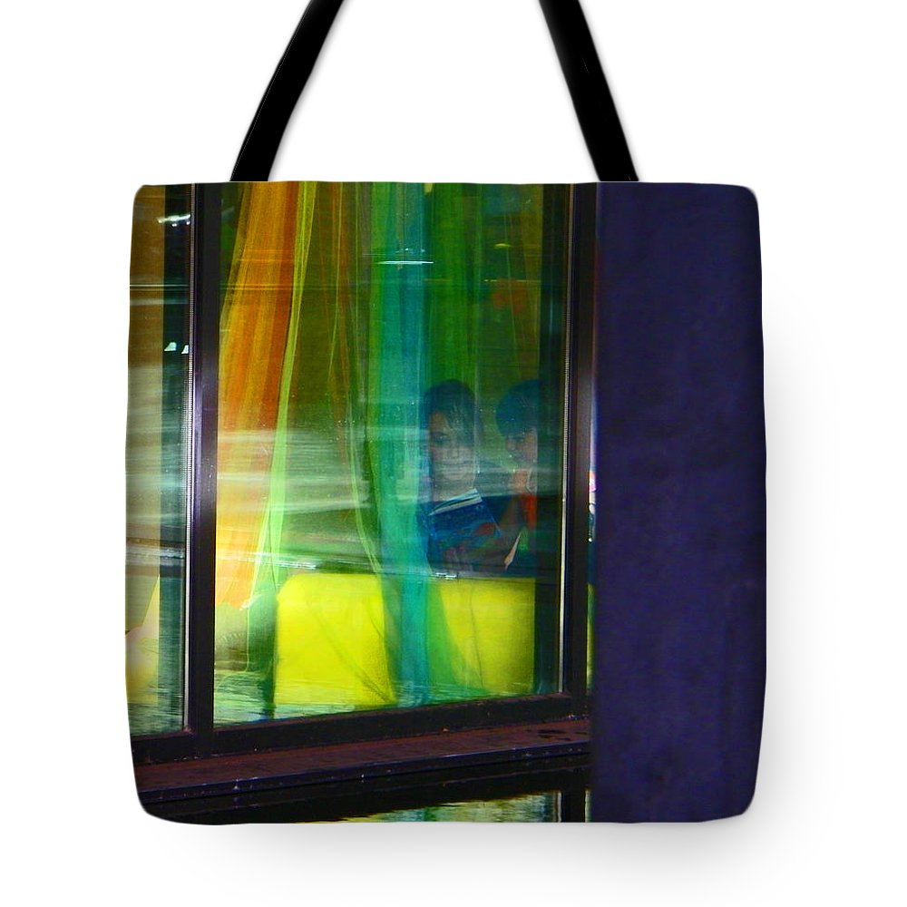 Abstract Tote Bag featuring the photograph Alternate Reality 12 by Lenore Senior