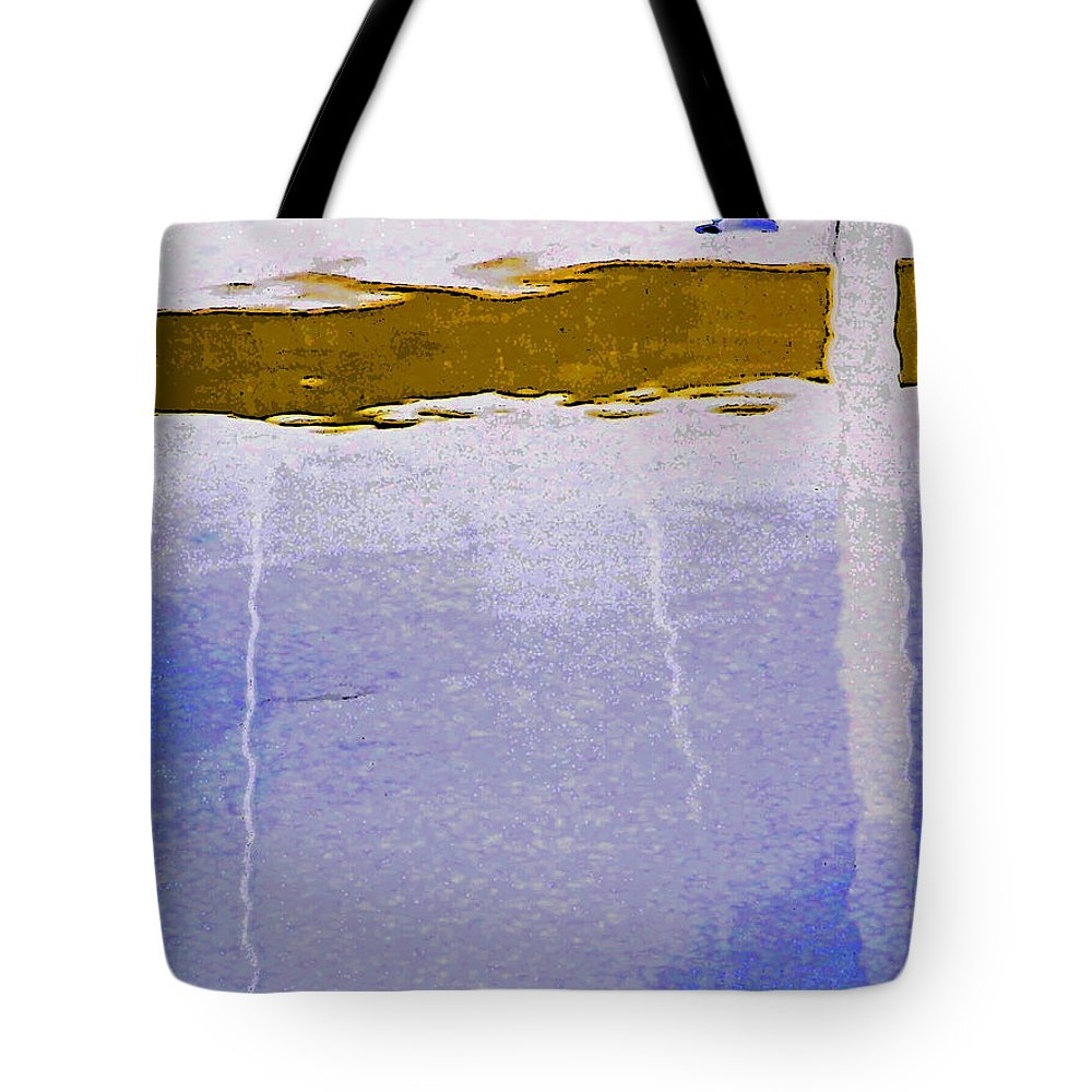 Abstract Tote Bag featuring the digital art Alternate Reality 13-3 by Lenore Senior