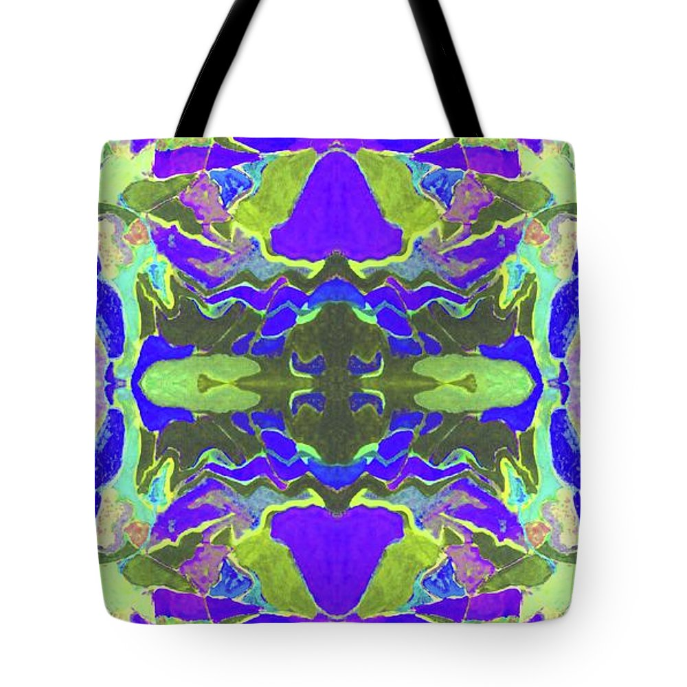 Tote Bag featuring the painting Alverno Lavender by Susan Price