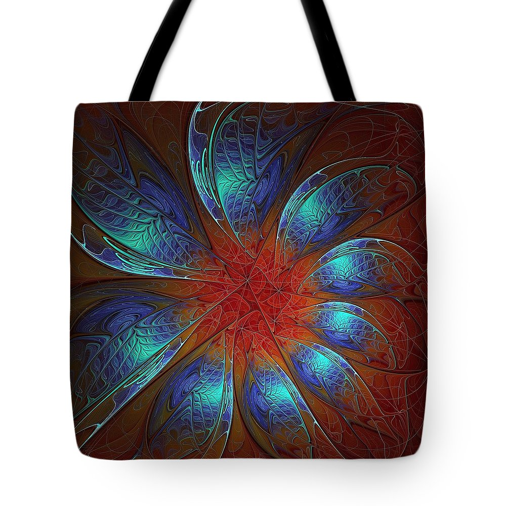 Digital Art Tote Bag featuring the digital art Always And Forever by Amanda Moore