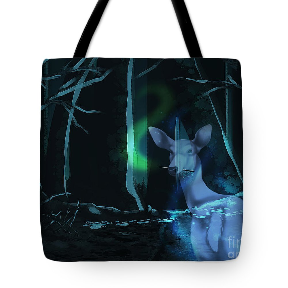 Always Tote Bag featuring the digital art Always by Torachi Lyncaster