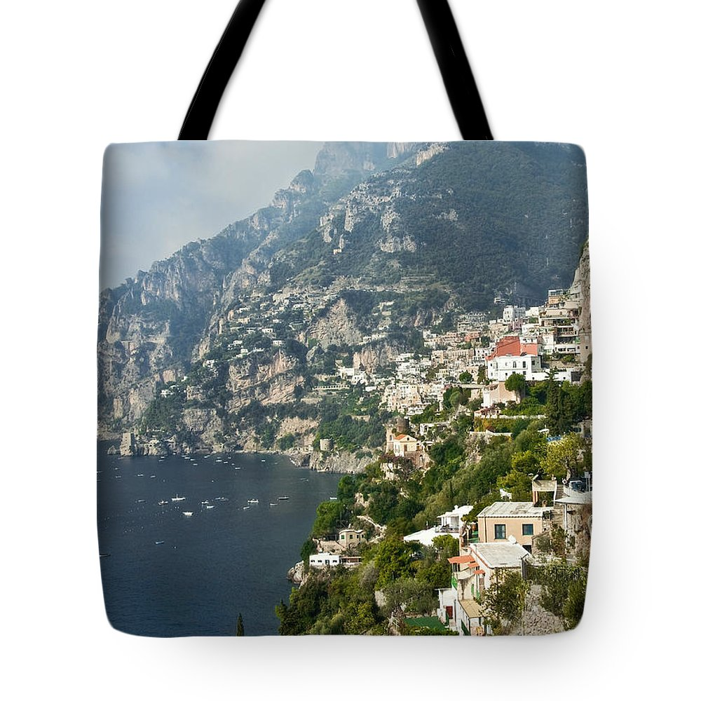 Amalfi Tote Bag featuring the photograph Amalfi Coast II by Steven Sparks