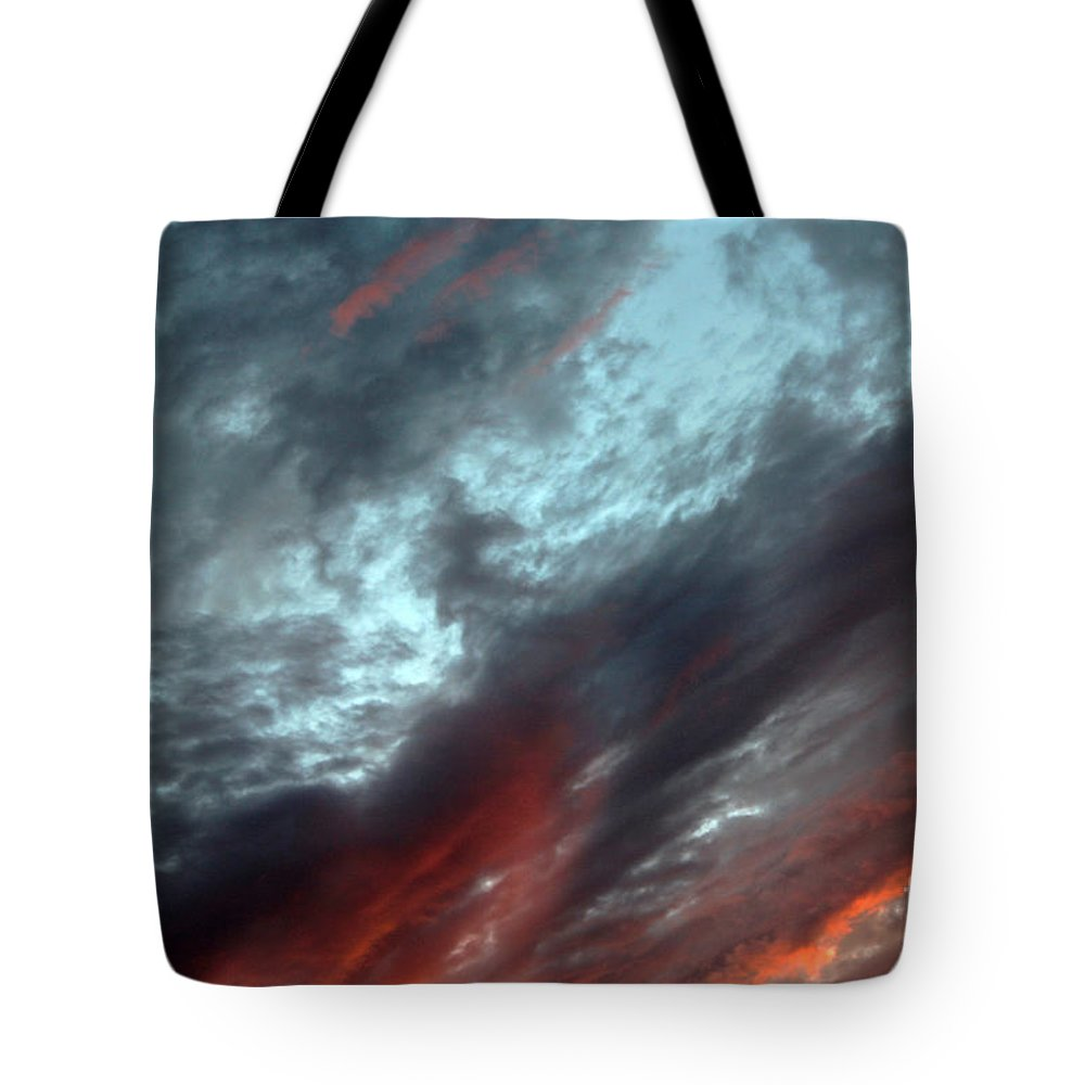 Photography Tote Bag featuring the photograph Amazing Clouds by Niloofar Ojani