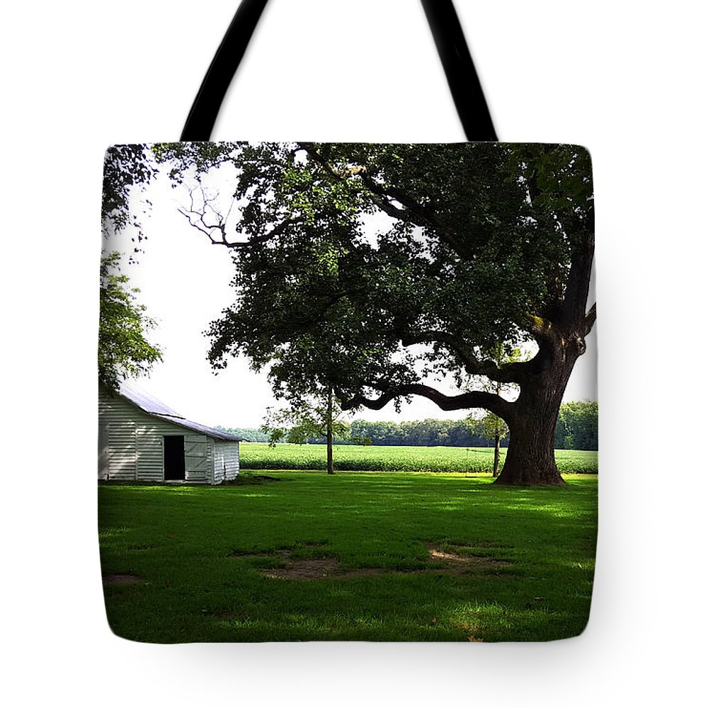 Barn Tote Bag featuring the photograph Amazing Farm Yeard by Ami Brown