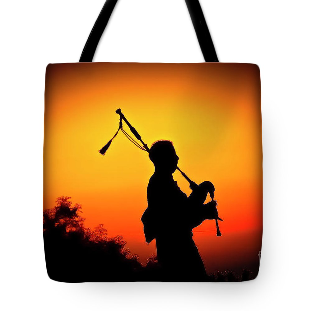 Sunset Tote Bag featuring the photograph Amazing Grace by Jim Cazel