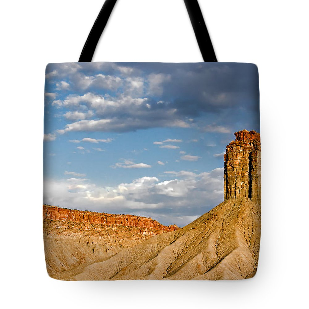 Mountain Tote Bag featuring the photograph Amazing Mesa Verde Country by Christine Till