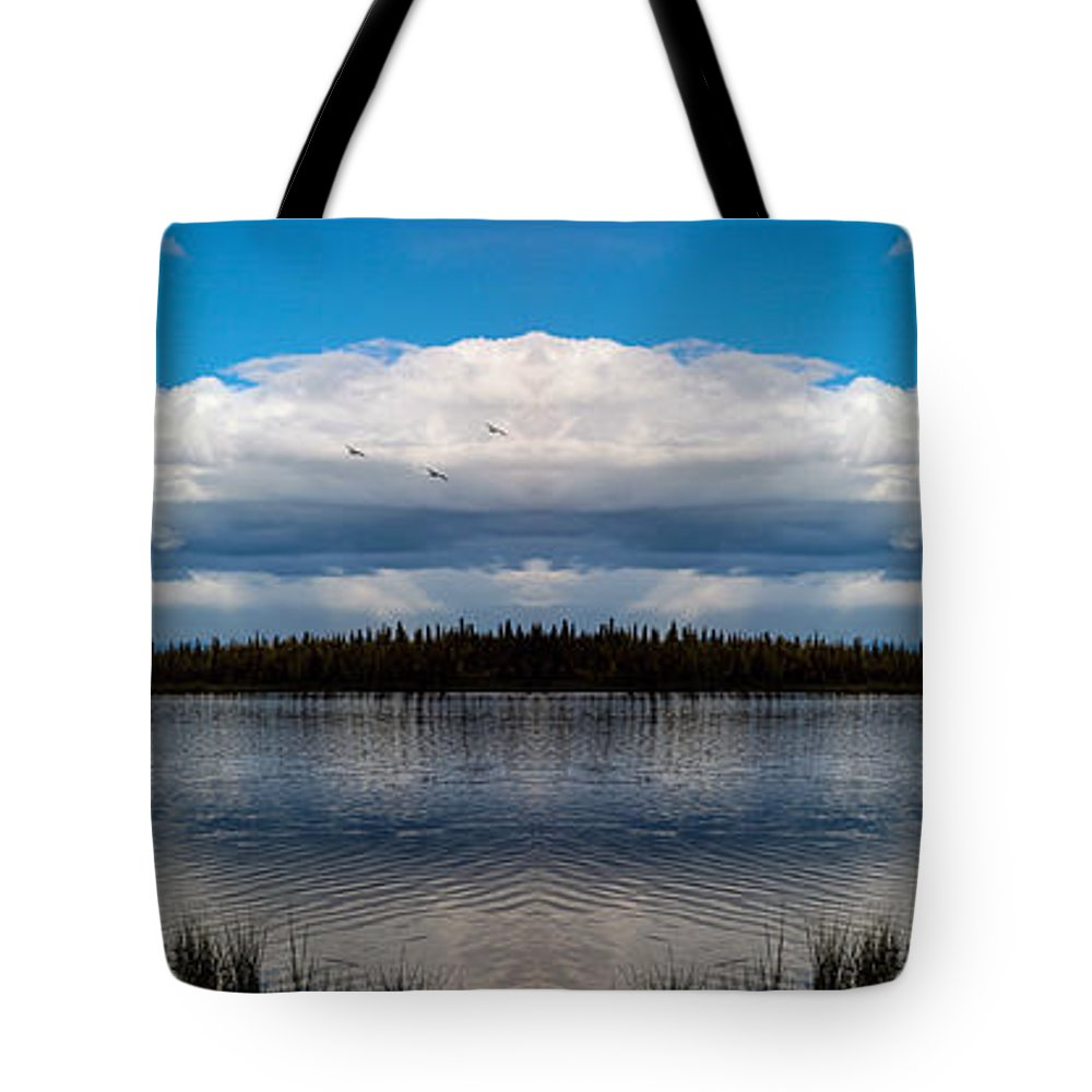 Alaska Tote Bag featuring the photograph America The Beautiful 2 - Alaska by Madeline Ellis